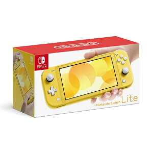 【新品】任天堂 Nintendo Switch Lite イエロー HDH-S-YAZAA