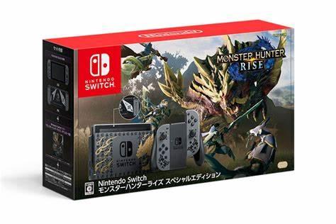 NintendoSwitchモンスターハンターライズスペシャルエディション 新品