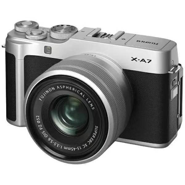 カメラ・ビデオカメラ・光学機器, ビデオカメラ FUJIFILM FX-A7LK-S Sliver Argent