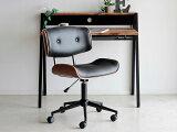 ヴィンテージ調オフィスチェアーRアンティーク調お洒落肘高さ調節可能パソコン用オフィスチェアー椅子