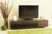 北欧風モダンロータイプ140センチ幅TVボードブラウン国産品ローボードヴィンテージレトロテレビボードテレビ台収納