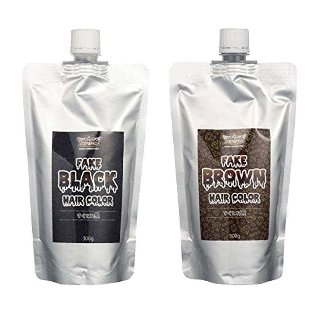 ANCELS エンシェールズ すぐとれシリーズ すぐとれ黒 すぐとれ茶 FAKE フェイクブラック フェイクブラウン カラートリートメント 300g 送料無料