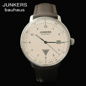 ユンカース/本革ベルトウォッチユンカース JUNKERS バウハウス Bauhaus 腕時計/クォーツ/6046-5...
