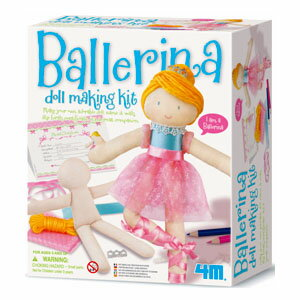 4M ballerina make kit 8 years old: Woman