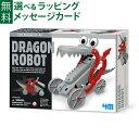 【夏休み 工作キット】 4M ドラゴンロボット 誕生日 8歳【P】【kd】