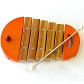 【楽器玩具】木琴 BorneLund(ボーネルンド)社 楽器玩具 ベビーシロフォン オレンジ 木のおもちゃ お誕生日 1歳:男 お誕生日 1歳:女【クリスマスプレゼント 子供】【c】【】