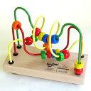 【木のおもちゃ ルーピング】【ビーズコースター 出産祝い】 ジョイトーイ社 ウーギー【知育玩具】【P】