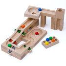 【木のおもちゃ】【木製玩具知育玩具スロープ】BorneLund(ボーネルンド)カデンカデンクーゲルバーン・チャイム4歳