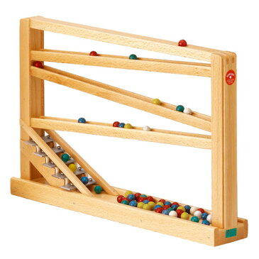 【木のおもちゃ スロープ】 ベック社 CHRISTOF BECK クーゲルバーン 誕生日 1歳:男 誕生日 1歳:女【P】【kd】