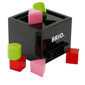 リビングに飾っておきたーい!【木のおもちゃ】ブリオ/BRIO ポストボックス・ 積み木 形合わせ...