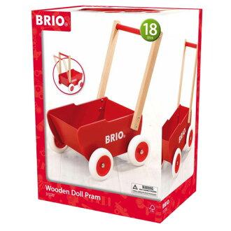 【木のおもちゃ】BRIO歩行器ドールワゴン