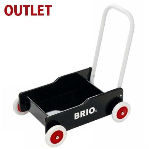 25%OFF アウトレット品 期間限定 知育玩具 ブリオ/BRIO 歩行器 手押し車(黒) お誕生日 1歳:男 FSC認証 おうち時間 子供