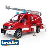Bruder ブルーダー ドイツ MB(メルセデスベンツ) 消防車 【1/16 ミニカー】【c】【】