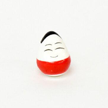 【メール便OK】木のおもちゃコモック 復興支援 起き上がり小法師 赤(起き上がりこぼし)福島県会津名産【おうち時間 子供】