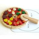 【木のおもちゃ】エトボイラ ままごと ごっこ おいしいピザ