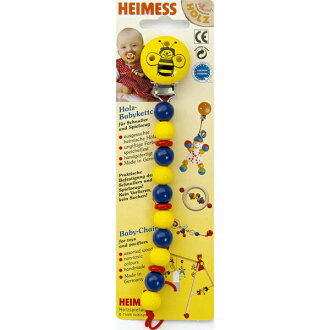 Heimess Himes pacifier holder / chain clip bee