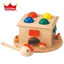 【ハンマートイ 木のおもちゃ】エド・インター 木のおもちゃ/たたくおもちゃ たたいてコロン 【誕生日 出産祝い 子供】【P】【kd】
