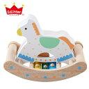 【鉄琴 木のおもちゃ】エド・インター 木のおもちゃ/木製玩具 カランコロン木馬 【誕生日 出産祝い 子供】【P】【kd】