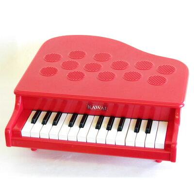楽器玩具 河合楽器 カワイミニピアノ P-25 レッド【木のおもちゃ 出産祝い 送料無料 】【お誕生日】3歳:男【お誕生日】3歳:女【ポイント5倍】【】