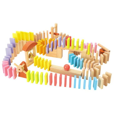 木のおもちゃ ニチガンオリジナル ドミノ Domino 100 お誕生日 3歳:男 お誕生日 3歳:女【P】【クリスマスプレゼント 3歳 送料無料】