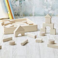 【積み木】 日本製 木のおもちゃ ニチガン 無塗装つみき 30P お誕生日 1歳 男 女