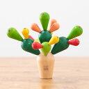 【木のおもちゃ】【木のおもちゃ】プラントイの木のおもちゃ Plantoys ゲーム サボテンバランスゲーム お誕生日 3歳:男 お誕生日 3歳:女【P】