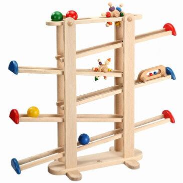 【木のおもちゃ スロープ】 プレジャーガーデン プレイミー PlayMeToys 知育玩具 木製玩具 キッズコーナー キッズスペース お誕生日 出産祝い【節句 入園 卒園 入学】【Y】