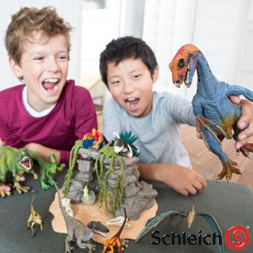 【おまけ付き オリジナルシール】シュライヒ 恐竜 schleich シュライヒ 恐竜と洞窟セット 【422612】【autumn_D1810】【kd】