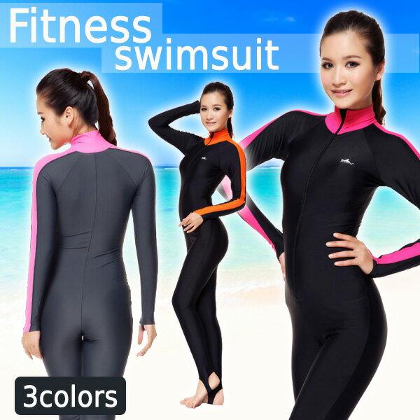 【レディース水着フィットネス】競泳水着スポーツワンピースオールインワンハーフパンツシンプルスイミングウェアジムバッククロス女性用