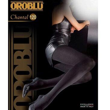 OROBLU CHANTAL 120デニール マイクロファイバータイツ 黒 ブラウン【あす楽対応】【コンビニ受取対応商品】