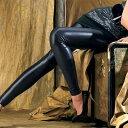 【イタリア レギンス インポート】OROBLU MORGANA レザーレギンス 黒 ブラウン シルバー 【送料無料】【あす楽対応】【コンビニ受取対応商品】