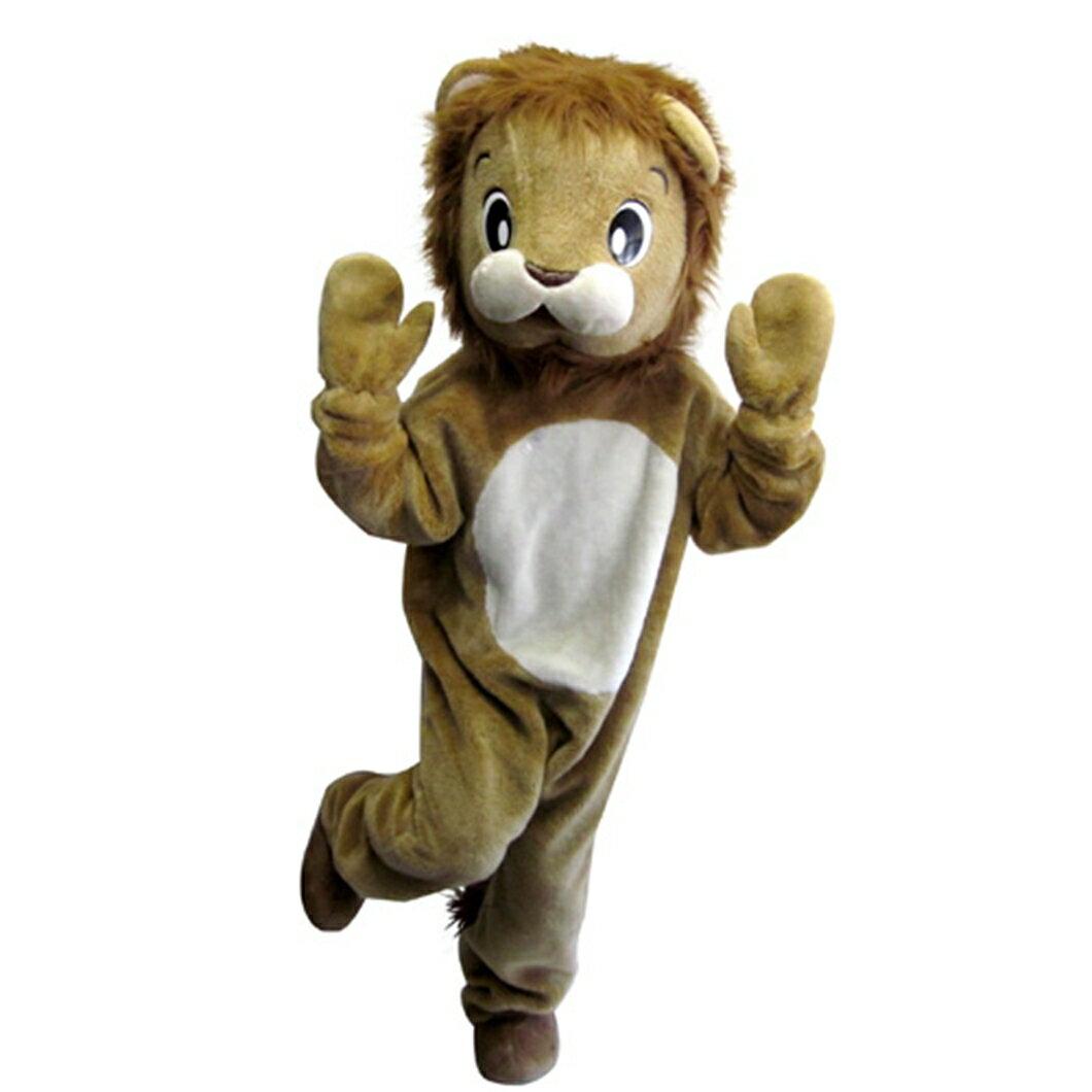 【レンタル】着ぐるみ ライオン 1泊2日 ご利用日(1日間)の前日到着、翌日中のご返送で大丈夫です。