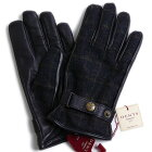 【送料無料】DENTSデンツフランネル/ヘアシープ(羊革)グローブ5-9032グレーメンズ手袋メンズ