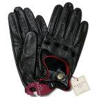 【送料無料】DENTSデンツドライビンググローブ5-1011Black/Berryメンズ手袋【手ぶくろ男性用誕生日プレゼント】