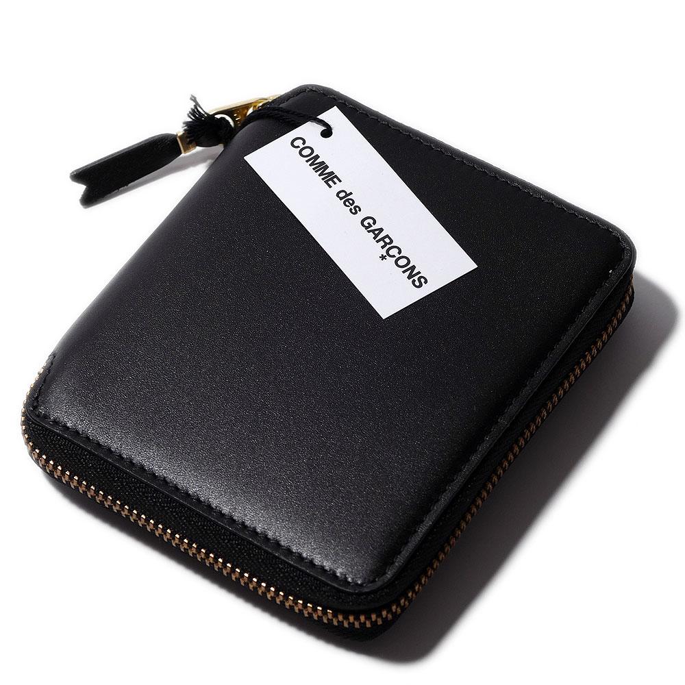 2017SSウォレット コムデ ギャルソン ラウンドファスナー二つ折り財布2100【送料無料】メンズ Wallet COMME des GARCONS 【メンズ財布 二つ折り財布(小銭入れあり) 誕生日プレゼント】レディース