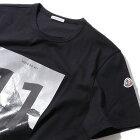 モンクレールプリントTシャツ8037450999ブラックメンズ【トップスTシャツ半袖おしゃれメンズ】MONCLER