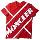 モンクレールTシャツ8C70610455レッドMONCLERメンズ2020SS