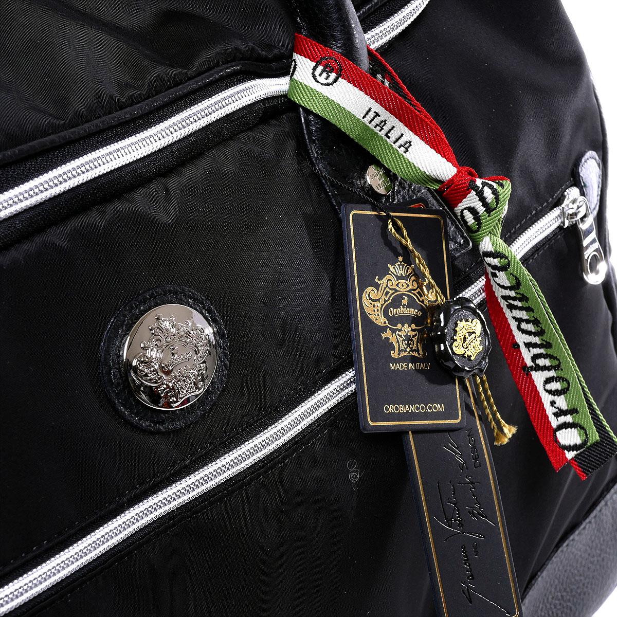 オロビアンコ  大容量ボストンバッグ BERNA(ブラック)メンズ【メンズバッグ ボストンバッグ  大型 旅行 】ダッフルバッグOROBIANCO