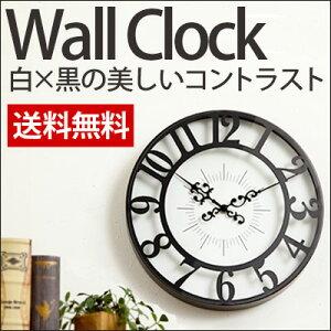 ポイント クロック アンティーク ウォール 掛け時計 クラシック 子供部屋 デザイン インテリア おしゃれ