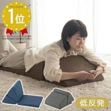 クッション 座椅子 折りたたみ 低反発 日本製 ブラウン/ベージュ CHR100118