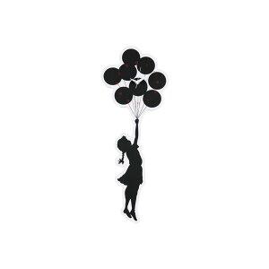MEDICOM TOY   メディコム トイ - WALL CLOCK FLYING BALLOONS #WHITE [ 20SC-BR-OT-06]