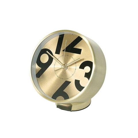 スパイス EDGE BESIDE NUMBER TELR1100GD ゴールド 置き時計 シンプル モダン おしゃれ かわいい 置時計 クロック CLOCK 時計 輸入品 一人暮らし ひとり 一人 二人暮らし