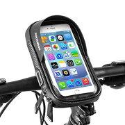 ROCKBROS(ロックブロス)自転車バイクスマホホルダー防水携帯ホルダースマホ固定用ホルダー防塵遮光小物収納