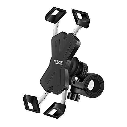 自転車 スマホ ホルダー Tiakia オートバイ バイク スマートフォン 振れ止め 脱落防止 GPSナビ 携帯 固定用 マウント