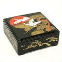 オリジナル重箱 日の出鶴6.5寸 1段蓋付