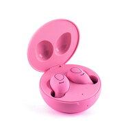 【Bluetooth5.0完全ワイヤレスイヤホン】[国内正規代理店販売品]レッドウッドスイートマカロンブラック/LEDWOODSweetMacaronBlackタッチセンサーで操作可能/連続再生時間:最大約14時間/両耳マイク通話/テレワーク・通学通勤に最適