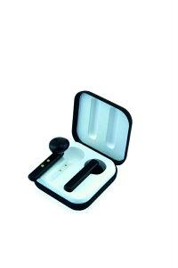 【Bluetooth5.0完全ワイヤレスイヤホン】[国内正規代理店販売品]レッドウッドソルベブラック/LEDWOODSorbetBlackタッチセンサーで操作可能/連続再生時間:最大約12時間/両耳マイク通話/テレワーク・通学通勤に最適