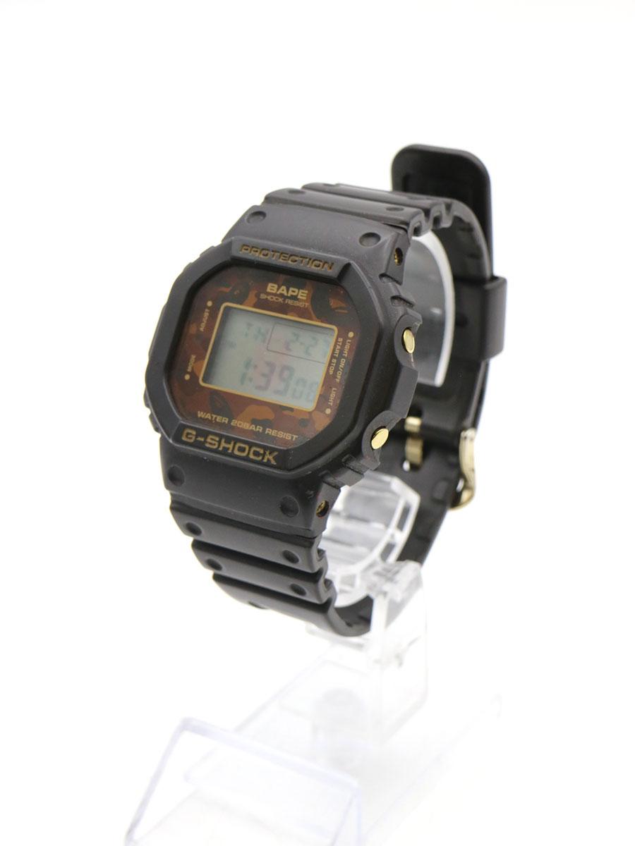 腕時計, メンズ腕時計 A BATHING APE CASIO G-SHOCK DW-5600VT 1ST CAMO 2000