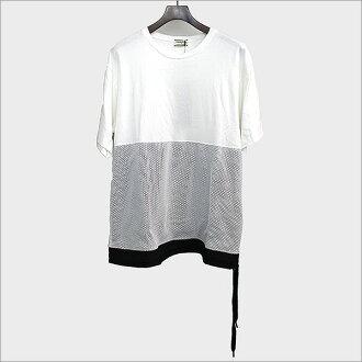 Onitsuka Tiger onitsukataiga 16SS Mesh T-Shirts/轉換網絲T恤白50[中古]