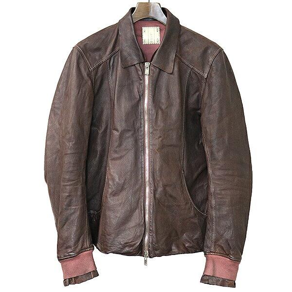 メンズファッション, コート・ジャケット LAYER-0 x GUIDI HORSE LEATHER BOULSON 46